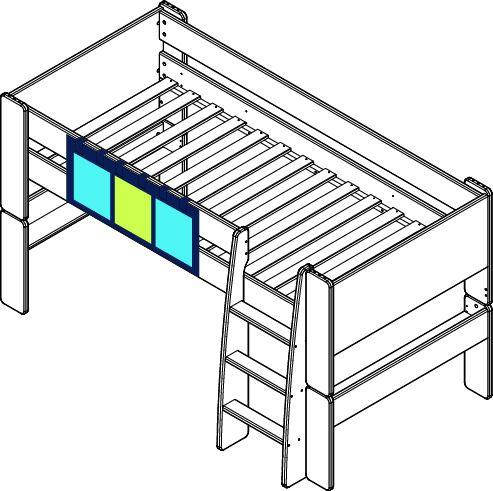 steens for kids kieszenie do ka niebieskie. Black Bedroom Furniture Sets. Home Design Ideas