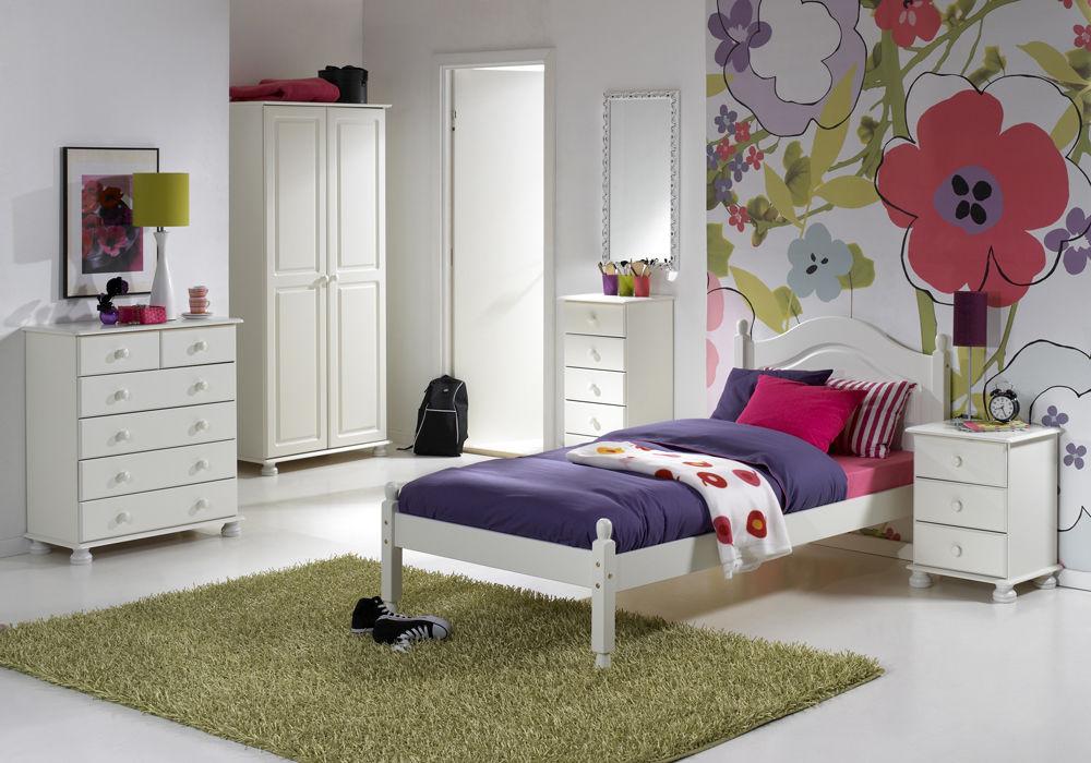 Biała Romantyczna Sypialnia Richmond Iv