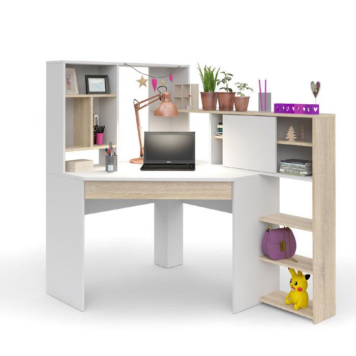 W superbly Function Plus biurko narożne z regałem HD77