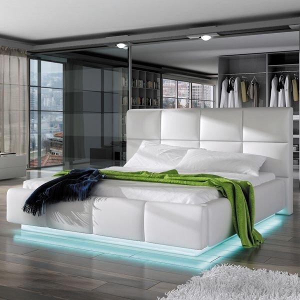 łóżko Tapicerowane Asti 160 Cm Ze Stelażem Pojemnikiem Na